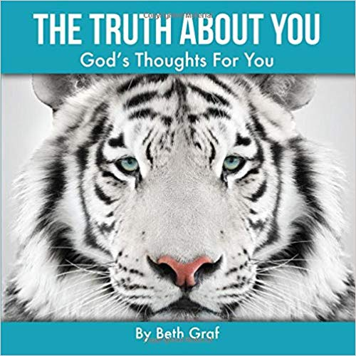 'The Truth About You' by Beth Graf, book cover featuring a snow leopard.