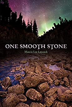 One Smooth Stone by Marcia Laycock cover shows a river full of rocks.